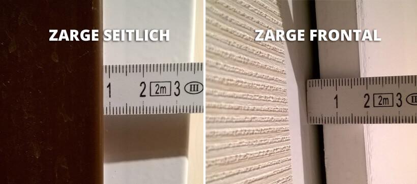 MUSTER  MOOSGUMMI Dichtung für Stahlzarge Türdichtung  Tür Zarge in weiss 10cm